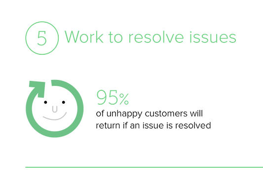 Customer satisfaction is key to retention