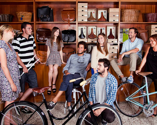Biciclasica team built a brand community
