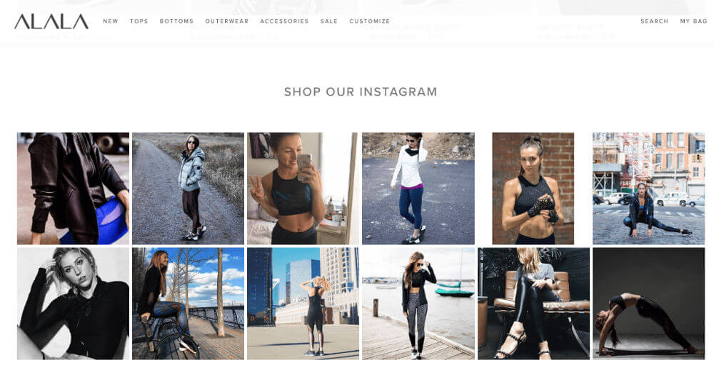 Instagram customer photos as a social proof marketing tactic